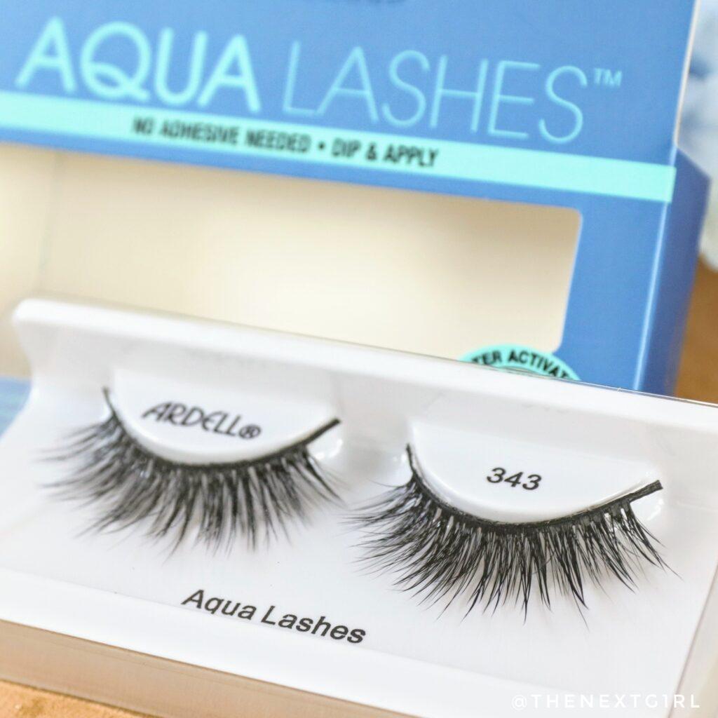 Close-up Ardell Aqua lashes no. 343