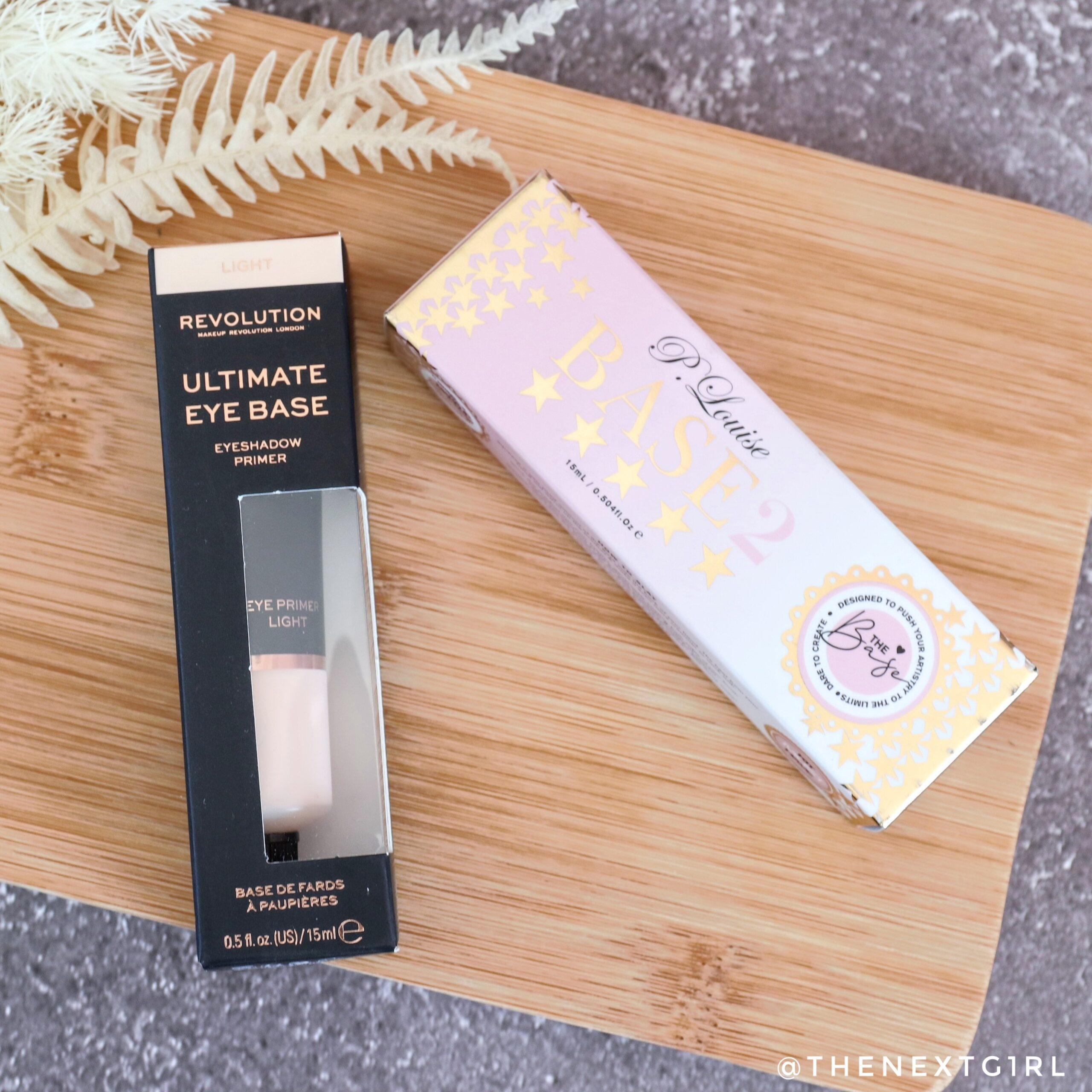 Beauty Battle! Makeup Revolution vs. P. Louise oogschaduwbasis