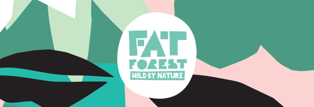 Fat Forest Wild By Nature logo banner