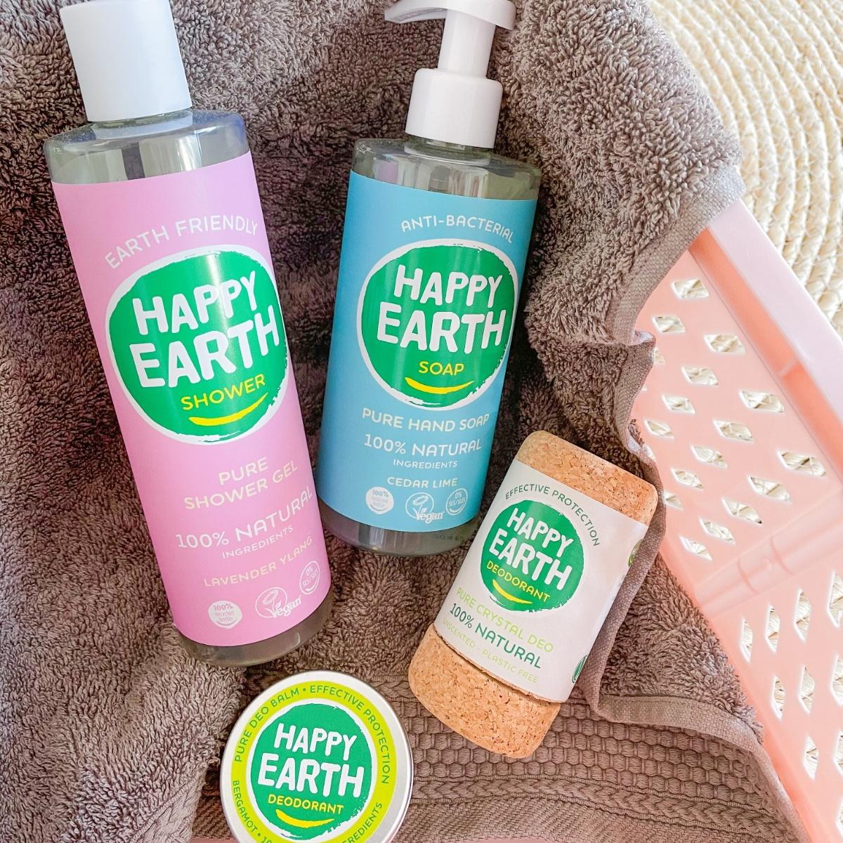 Persbericht: Happy Earth Natuurlijke verzorging