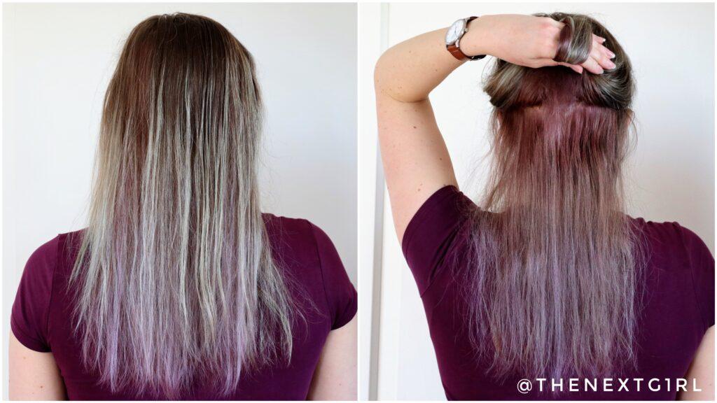 Resultaat eZn Real Milk Hair Color Pastel Purple