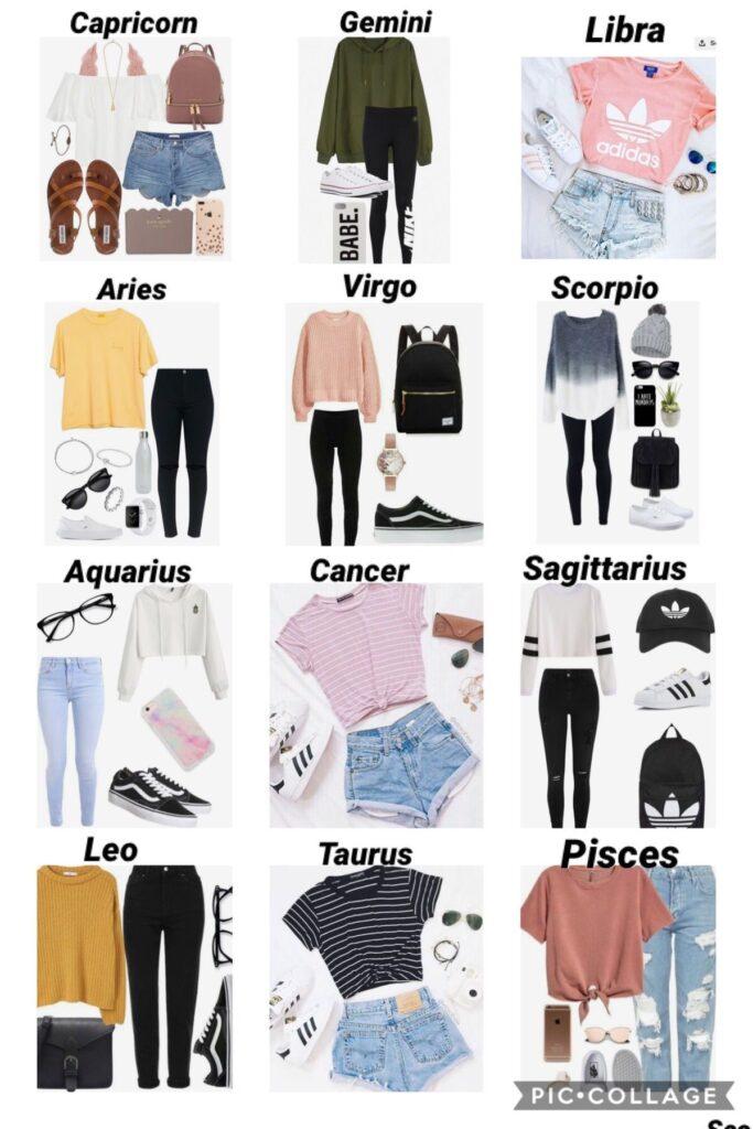 Sportieve outfits per sterrenbeeld