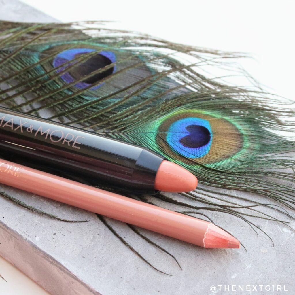 Max & More lippencil en gekleurde lippenbalsem
