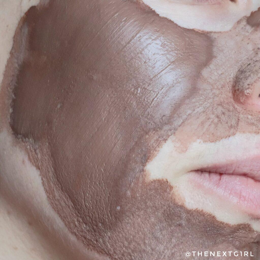 Gedroogd cleansing chocolate mudmask