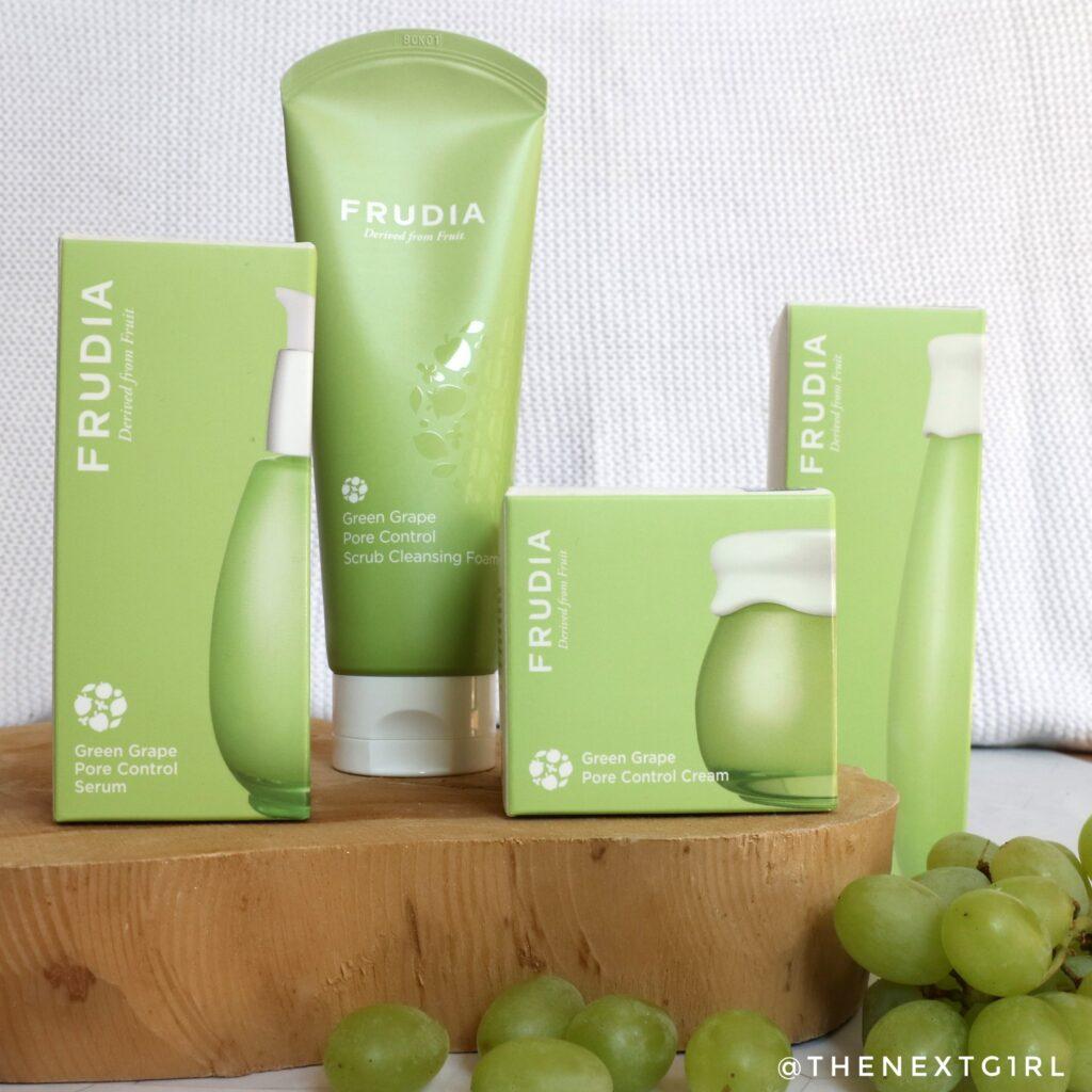 Frudia Green Grape Pore Control producten
