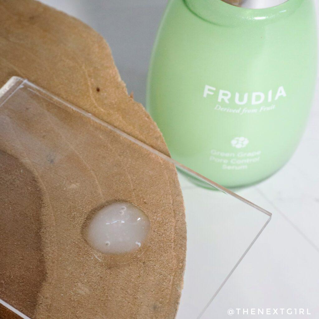 Textuur serum Korean Skincare