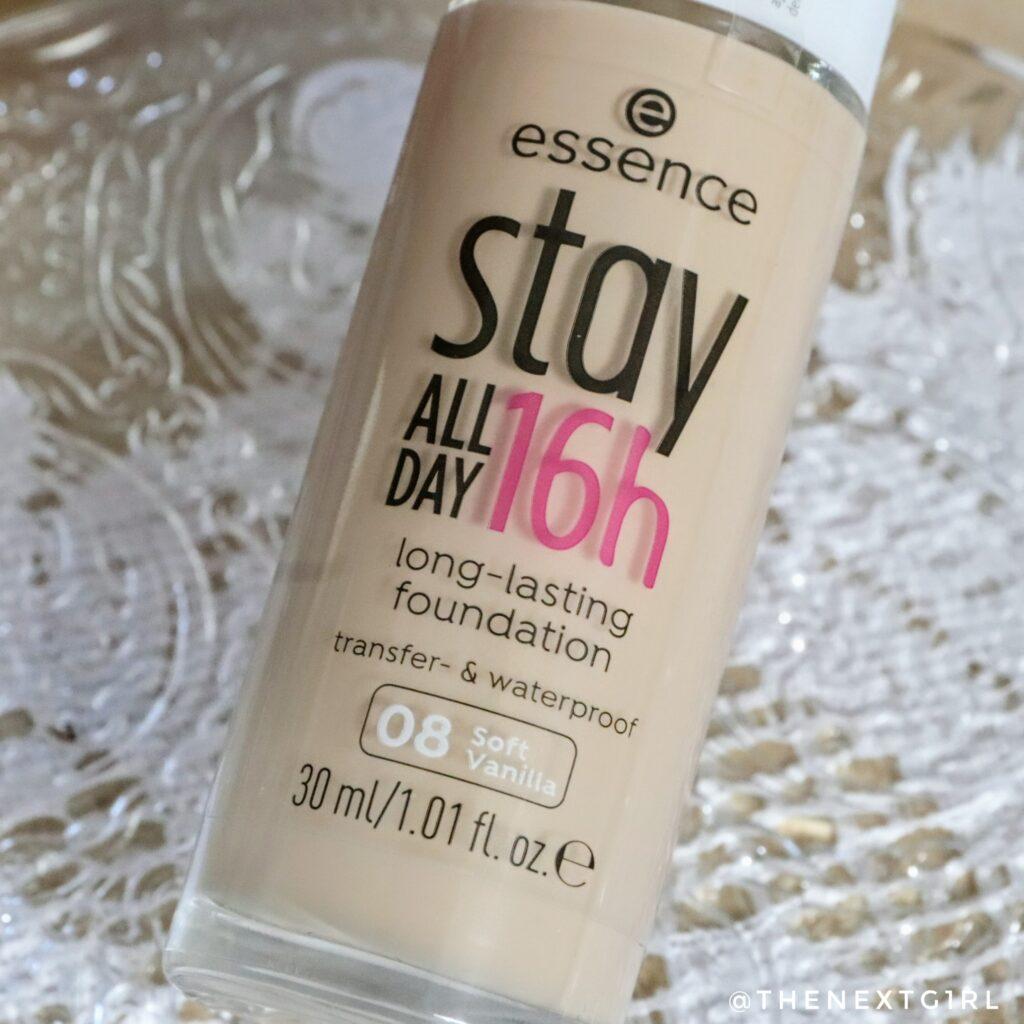 Essence Stay All Day 16h foundation soft vanilla