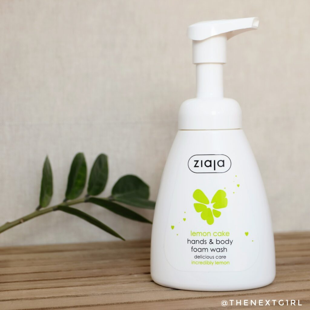 Ziaja Delicious Care Lemon Cake hands & body wash