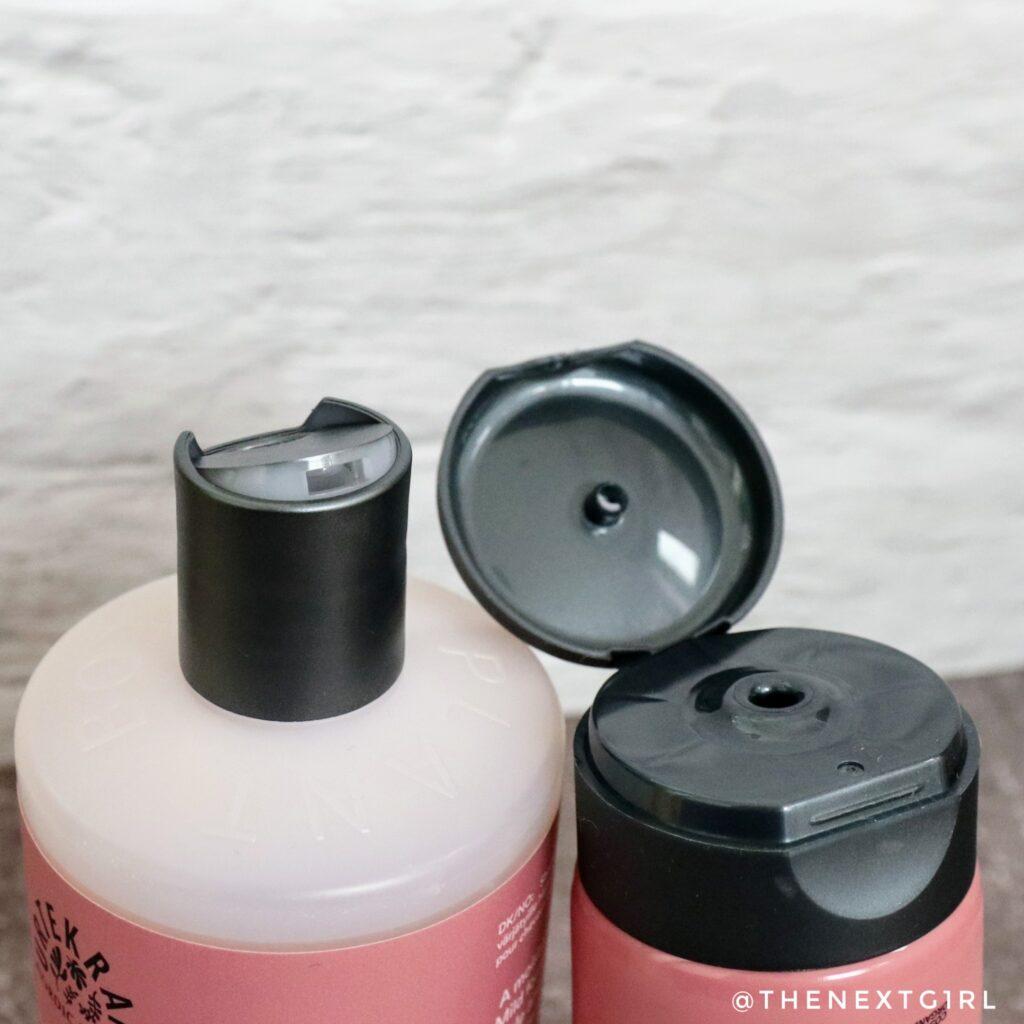 Verpakkingen colour preserve shampoo conditioner urtekram