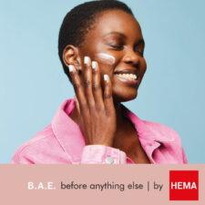 B.A.E. by HEMA skin care square