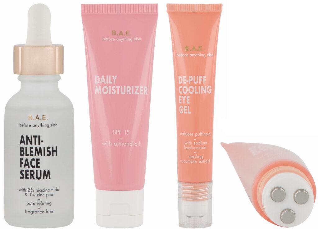 BAE by HEMA skincare serum moisturizer eyegel