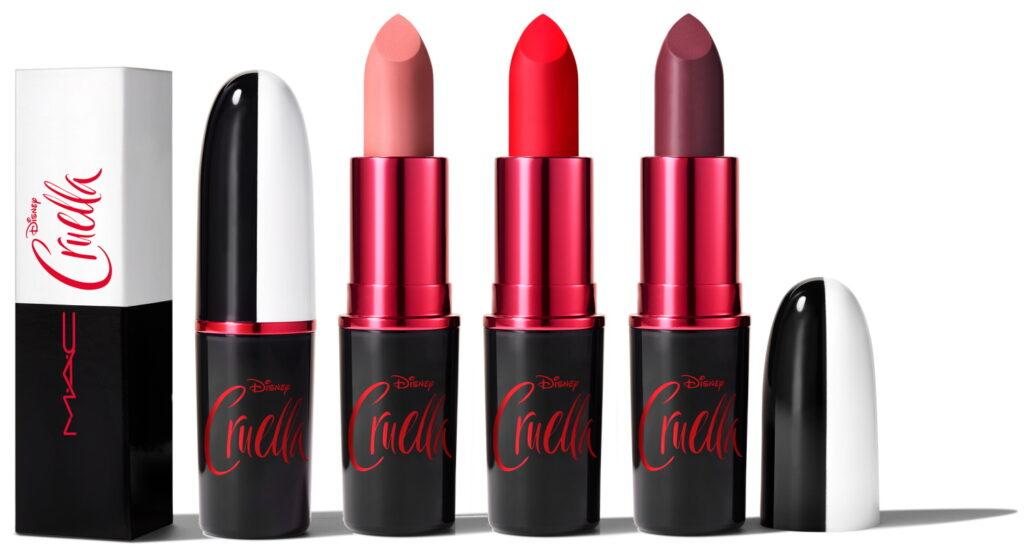 MAC Cruella matte lipstick kleuren