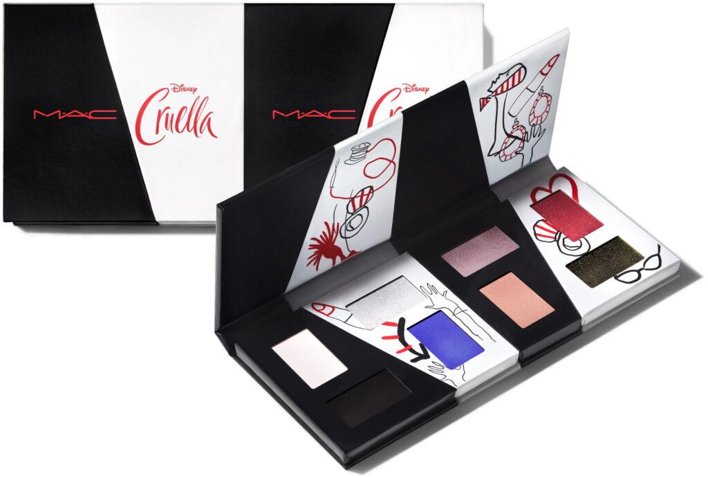 MAC Cruella may 2021 eyeshadow palette