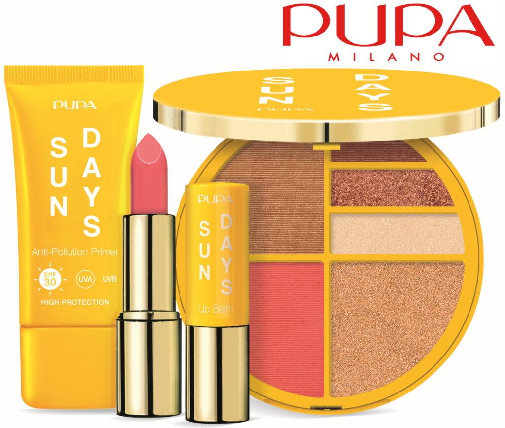 PUPA Milano Sun Days summer 2021 limited edition