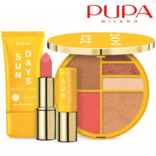 PUPA Milano Sun Days summer 2021 limited edition square