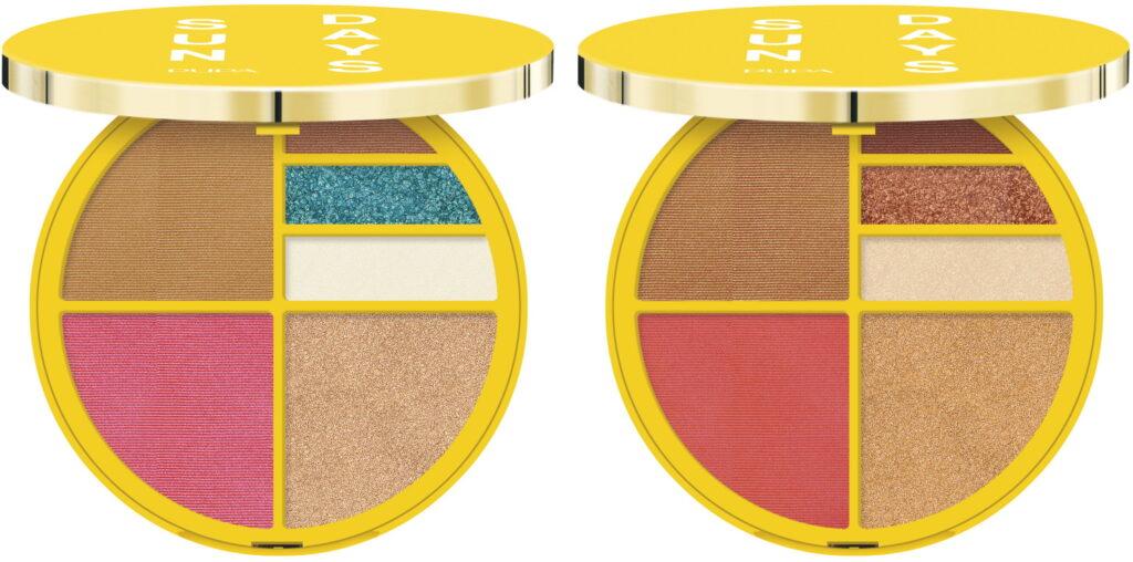 Pupa face en oogschaduw palette 2021