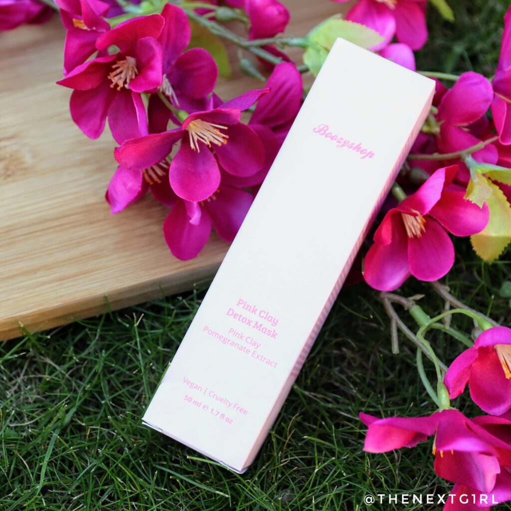 Review Boozyshop Pink Clay Detox Mask