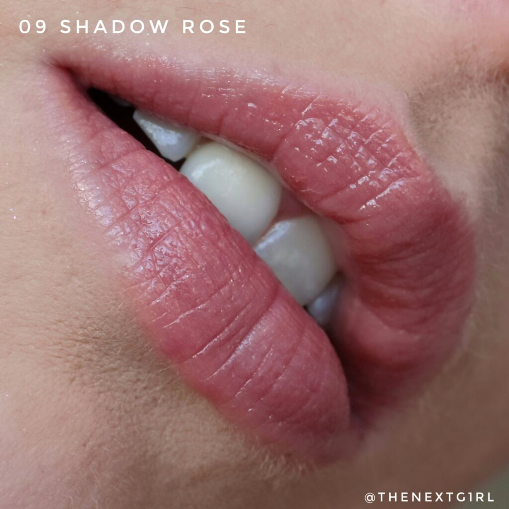 Swatch Essence 09 Shadow Rose