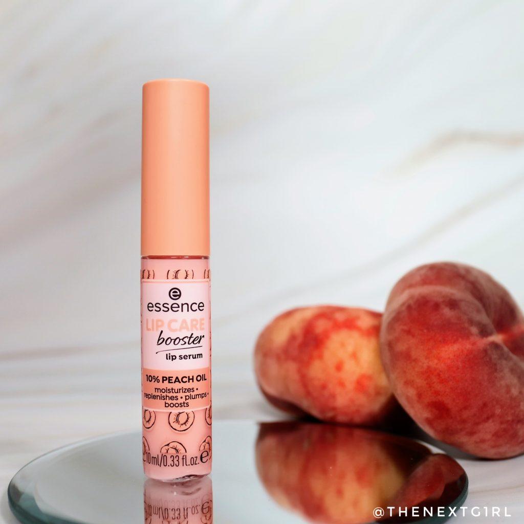 Essence lipcare booster serum peach
