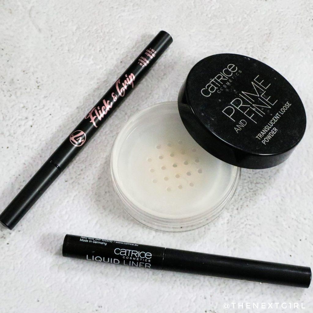 Opgemaakte make-up producten