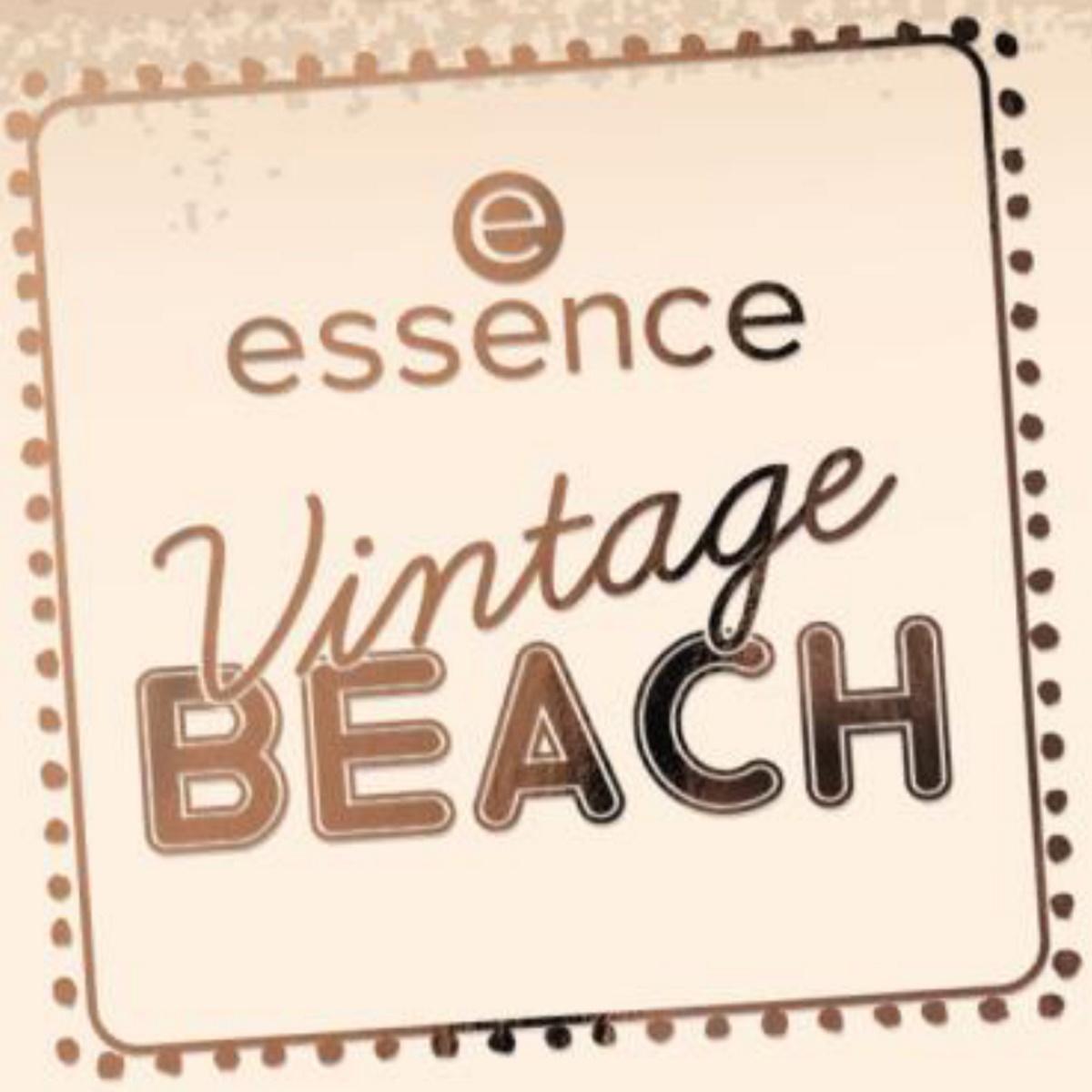Persbericht: Essence LE Vintage Beach