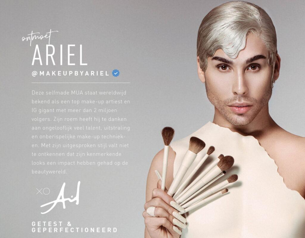 Kwastenset MakeupByAriel x Morphe 2021