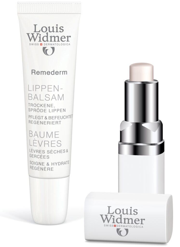 Louis Widmer lippenbalsem en UV stick