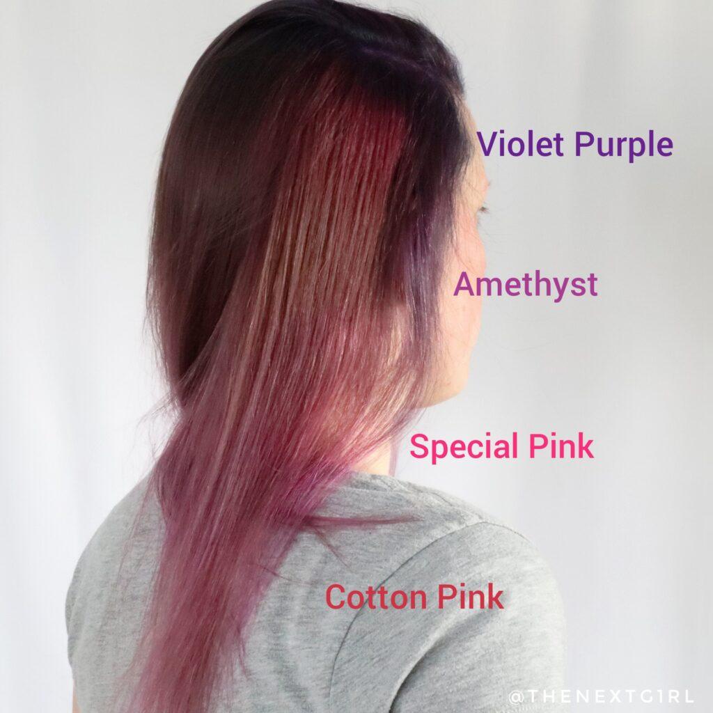 Aangebrachte Mattie Professional semi-permanente haarkleuring