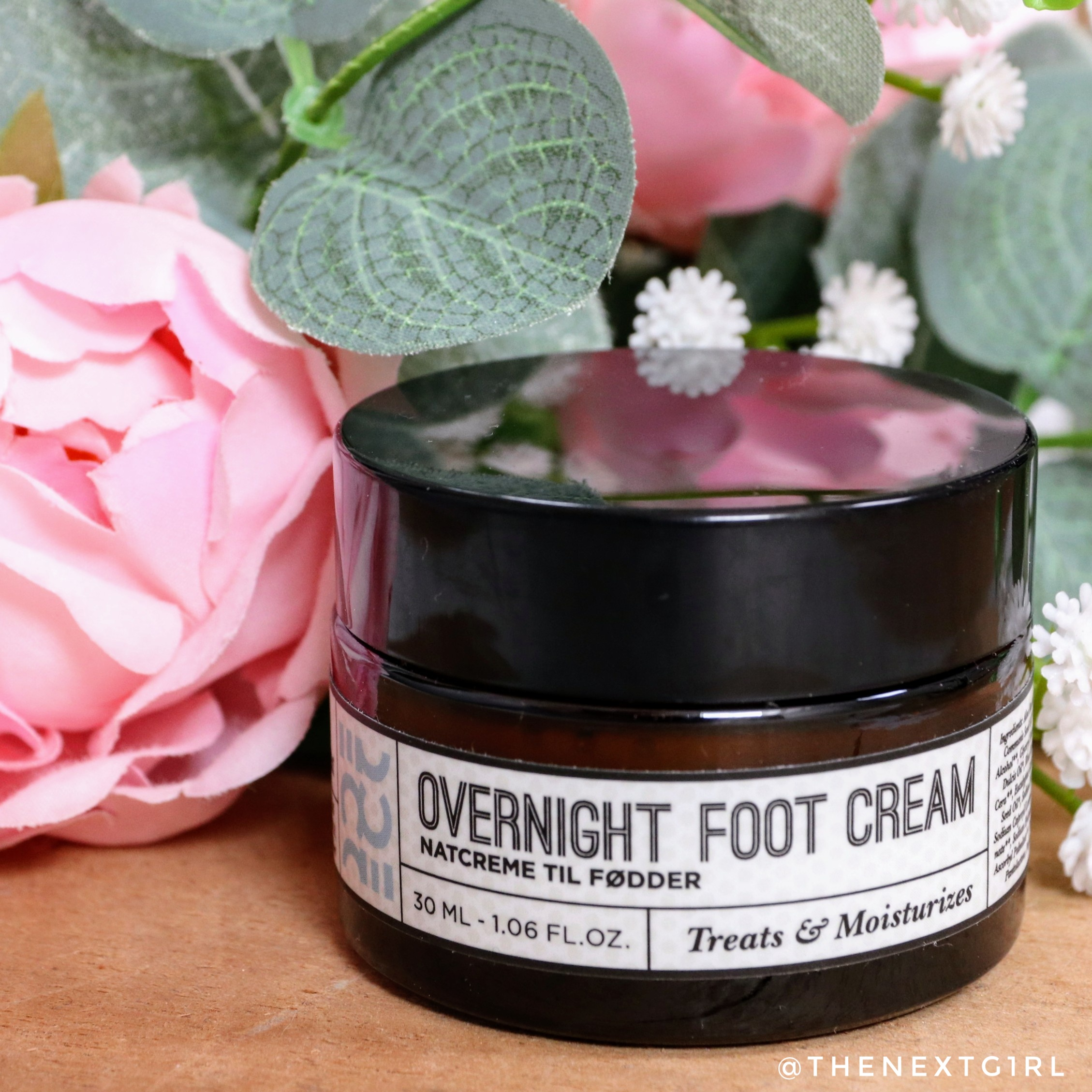 Review: Ecooking Overnight Foot Cream