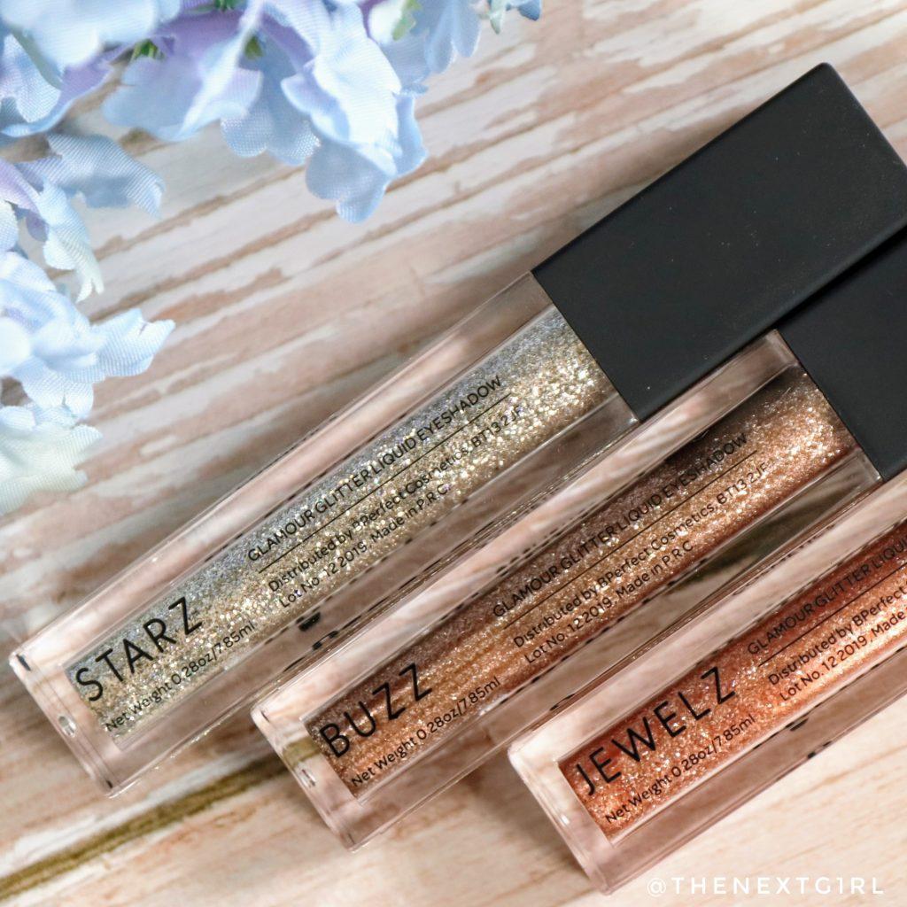 Glamour Glitter Liquid Eyeshadow Starz, Buzz, Jewelz