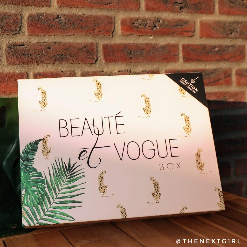 Beaute et Vogue box zomer 2021