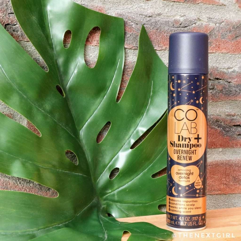 COLAB Dry shampoo overnight detox