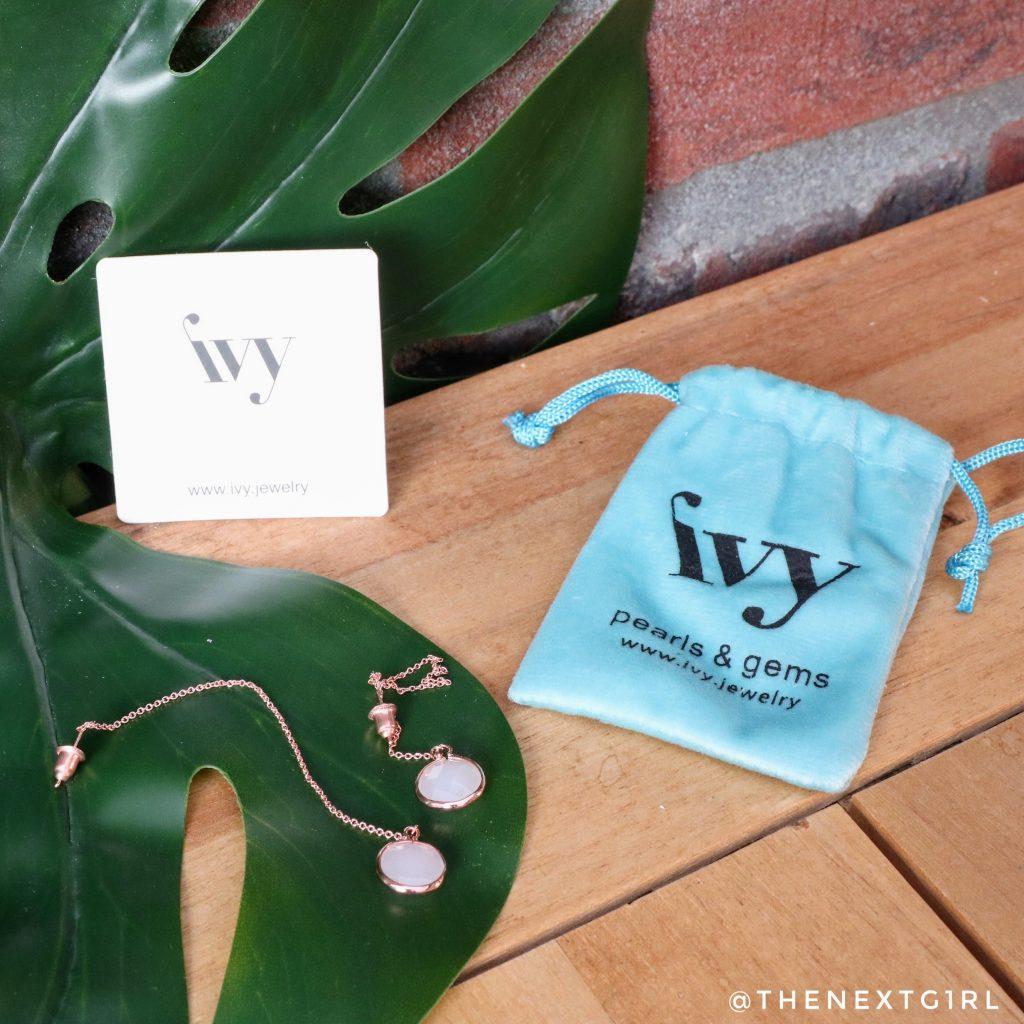 Beaute et Vogue zomerbox 2021 Ivy oorbellen
