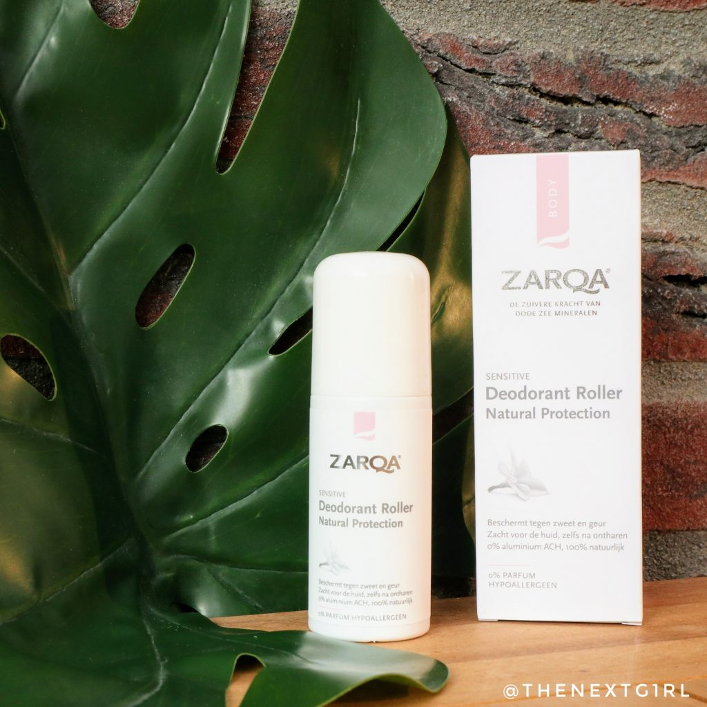 Zarqa Deodorant roller natural protection