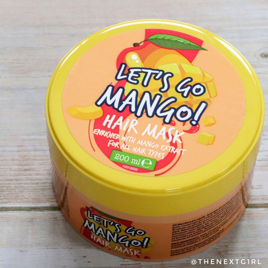 Action haarmasker Let's Go Mango!