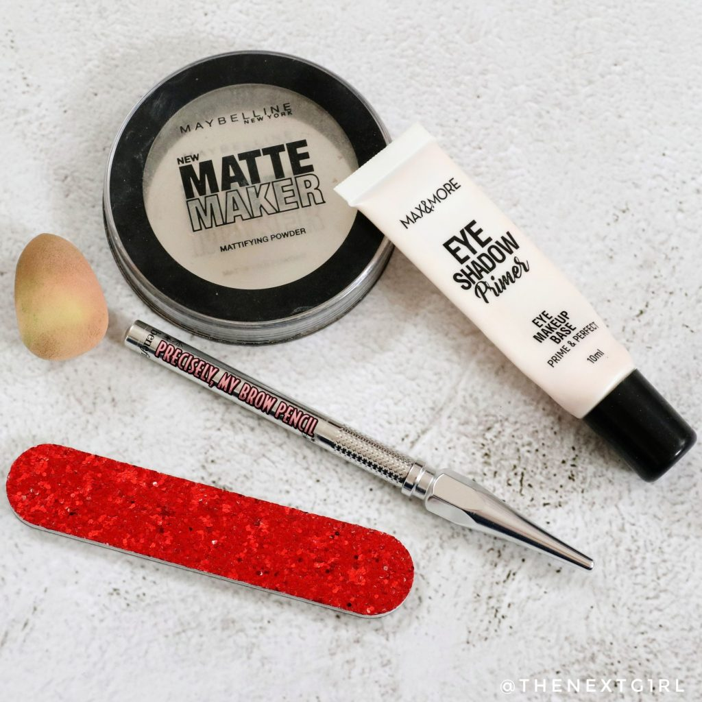 Opgemaakte make-up in juli 2021