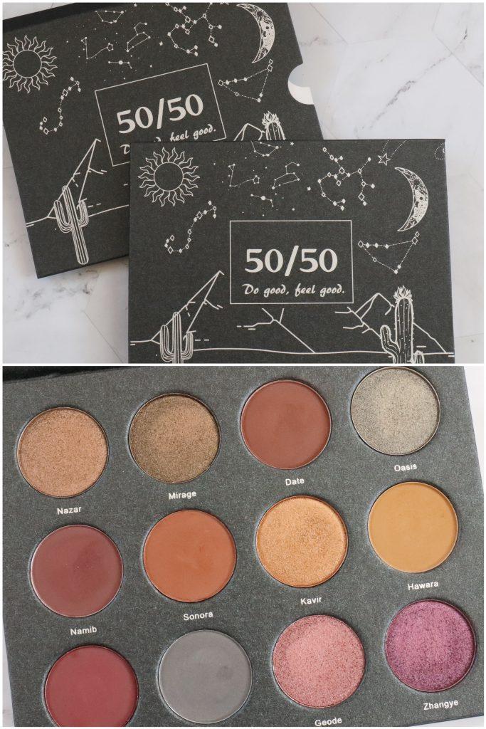 Te koop: 50/50 Makeup Desert vol. 2 oogschaduw palette