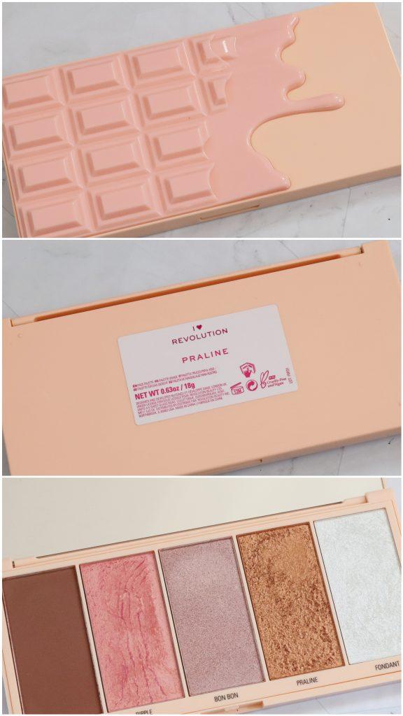 Te koop: I Heart Revolution Praline chocolate facepalette