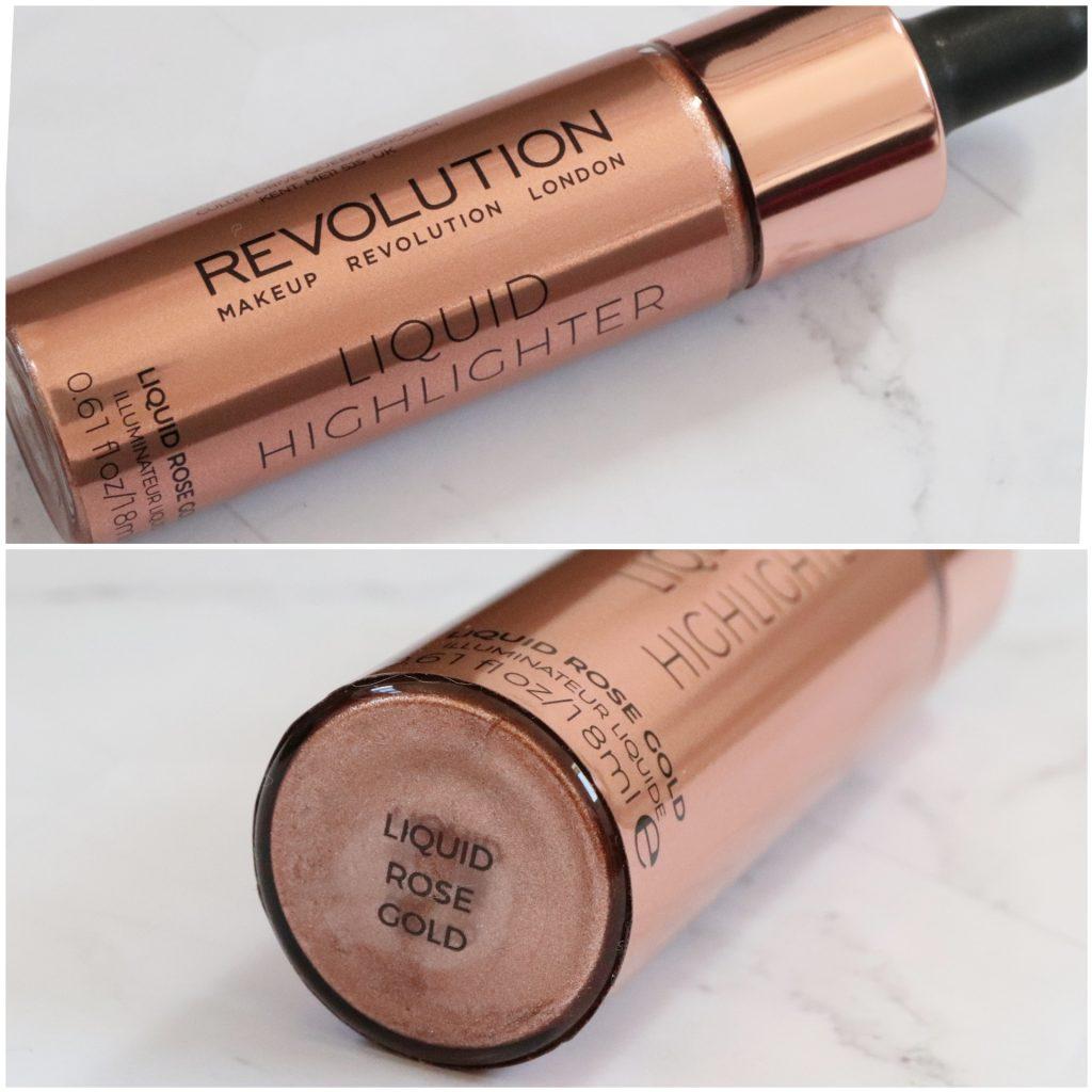 Te koop: Makeup Revolution Liquid Highlighter Rose Gold