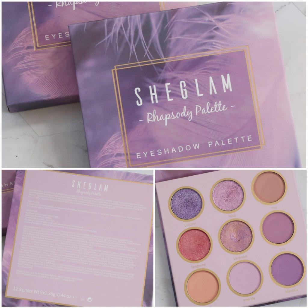Te koop: Sheglam Rhapsody palette SHEIN oogschaduwpalette