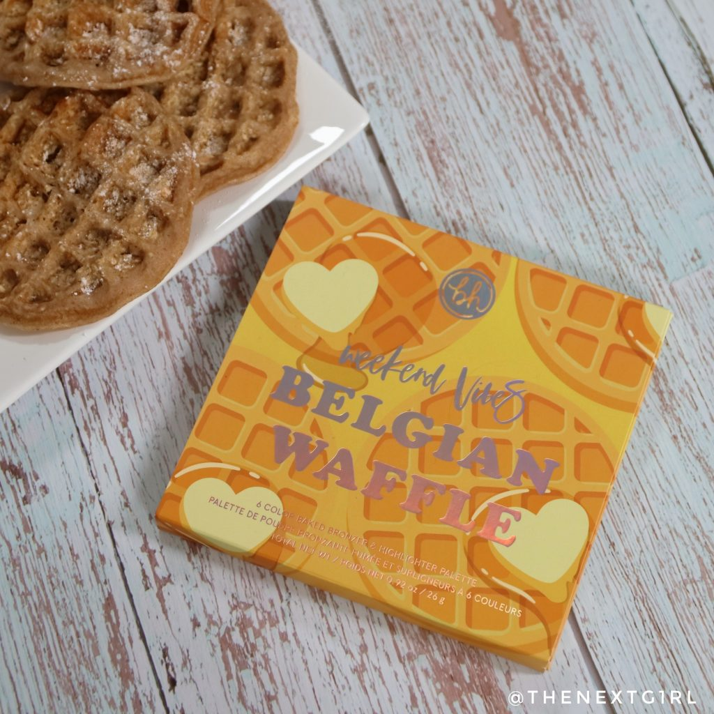 BH Cosmetics Belgian Waffle face palette