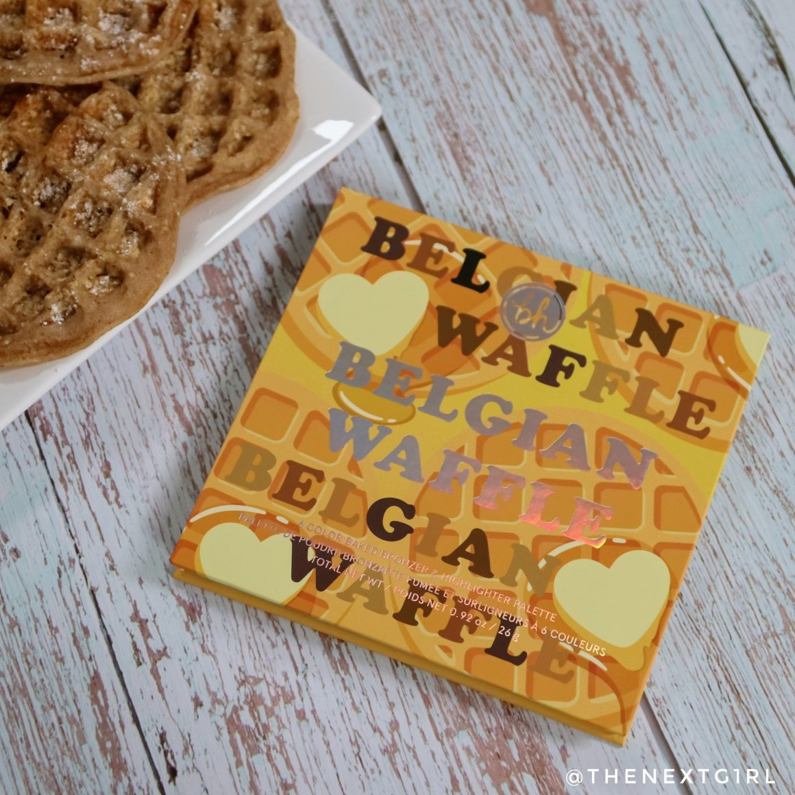 Review: BH Cosmetics Belgian Waffle palette