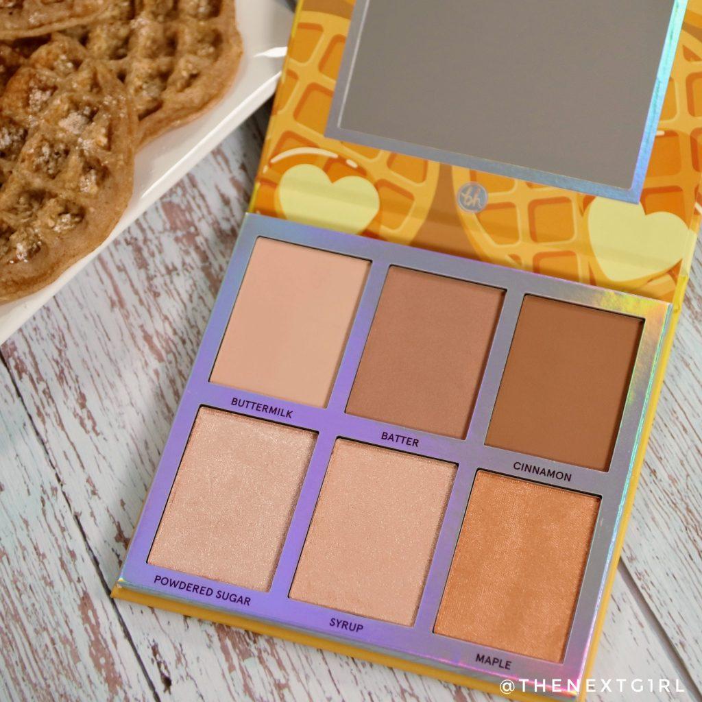 Kleuren in BH Cosmetics face palette