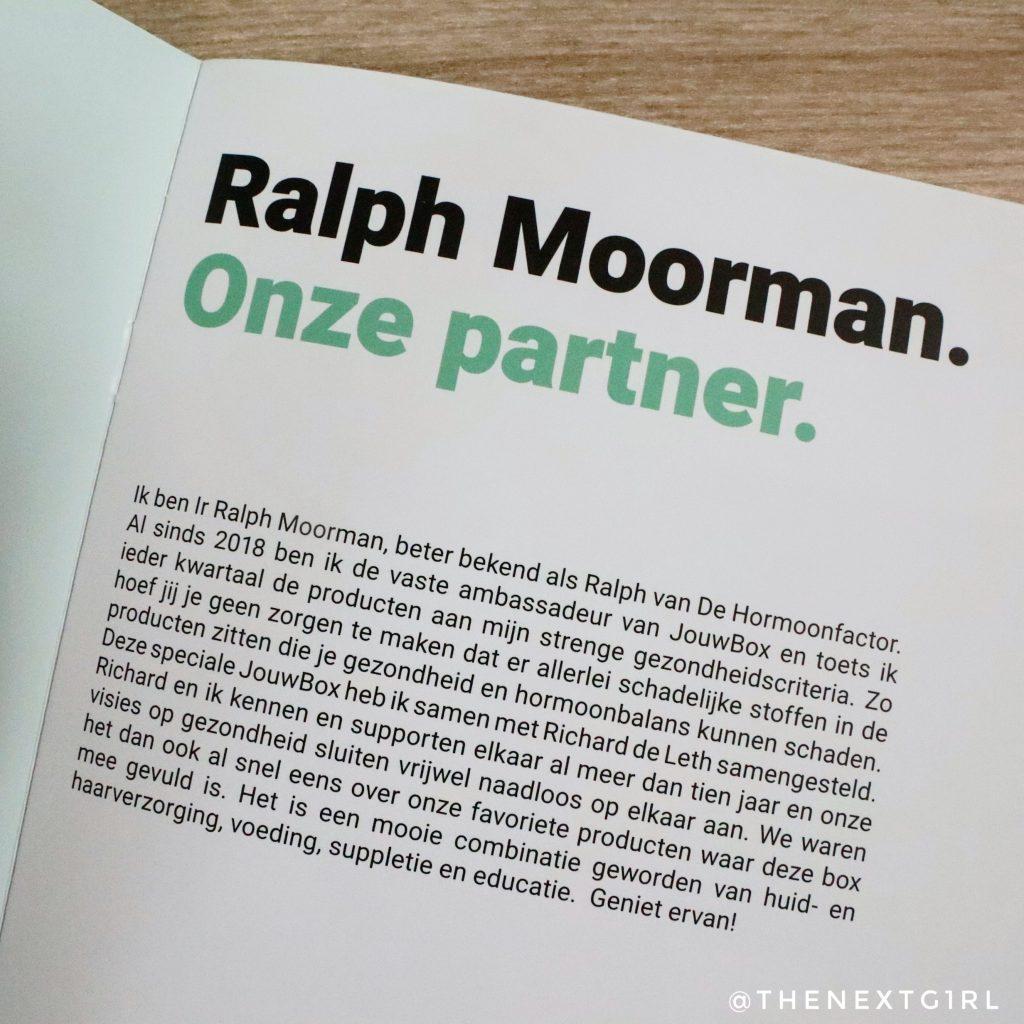 Samenwerking JouwBox en Ralph Moorman