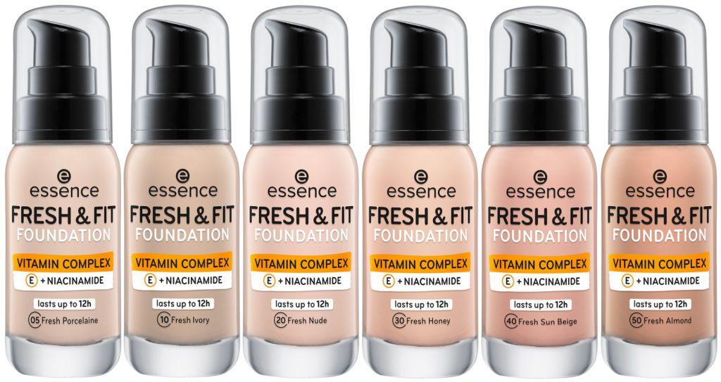 Essence Fresh & Fit Foundation 2021