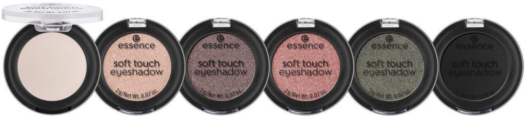 Essence Soft Touch eyeshadow herfst winter 2021 update