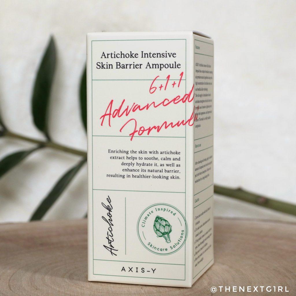 AXIS-Y Artichoke Intensive Skin Barrier Ampoule serum