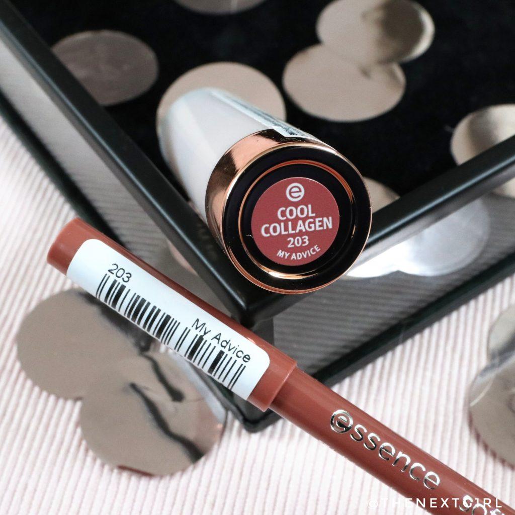 Essence 203 My Advice lipstick en lippotlood 2021