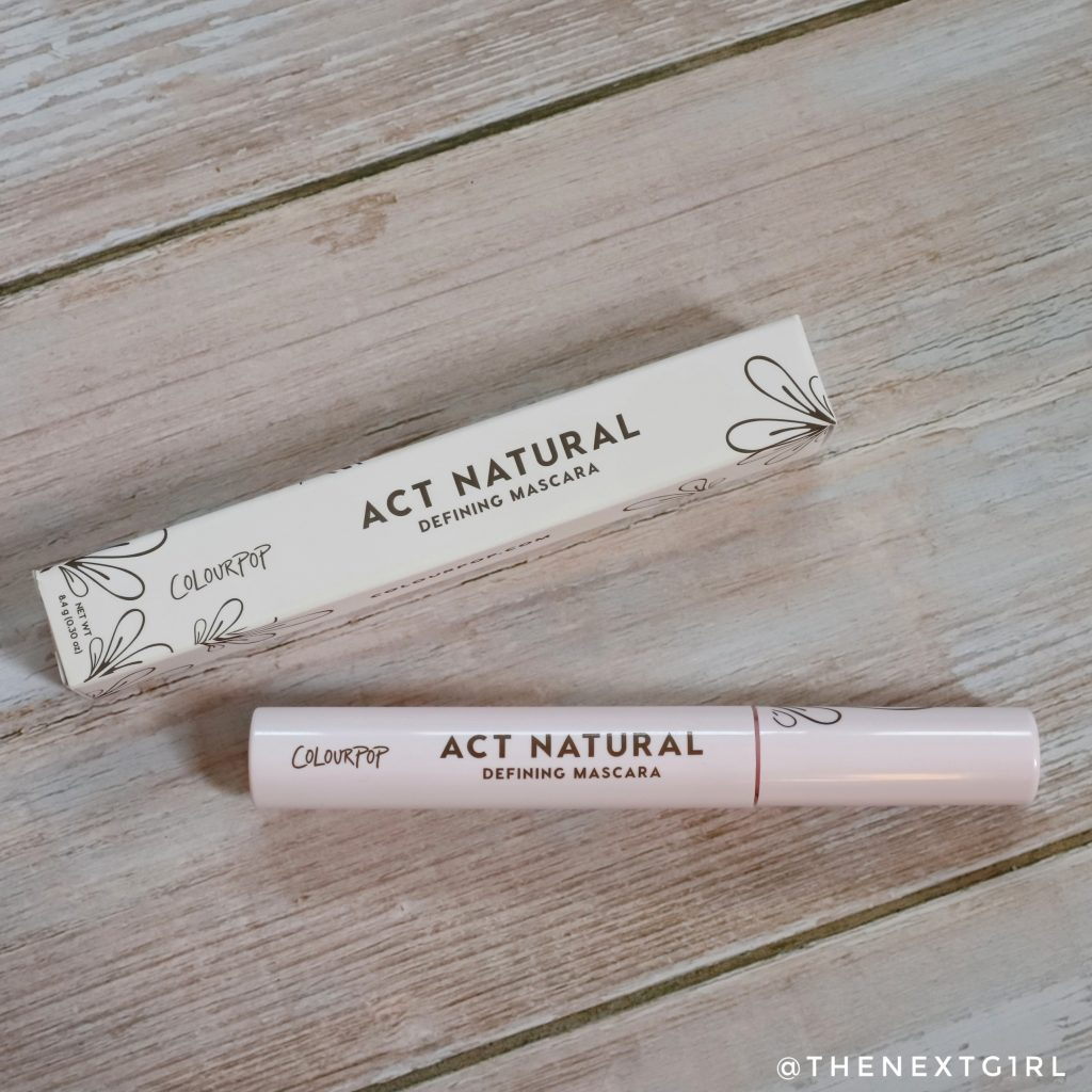 Bruine mascara Act Natural Colourpop