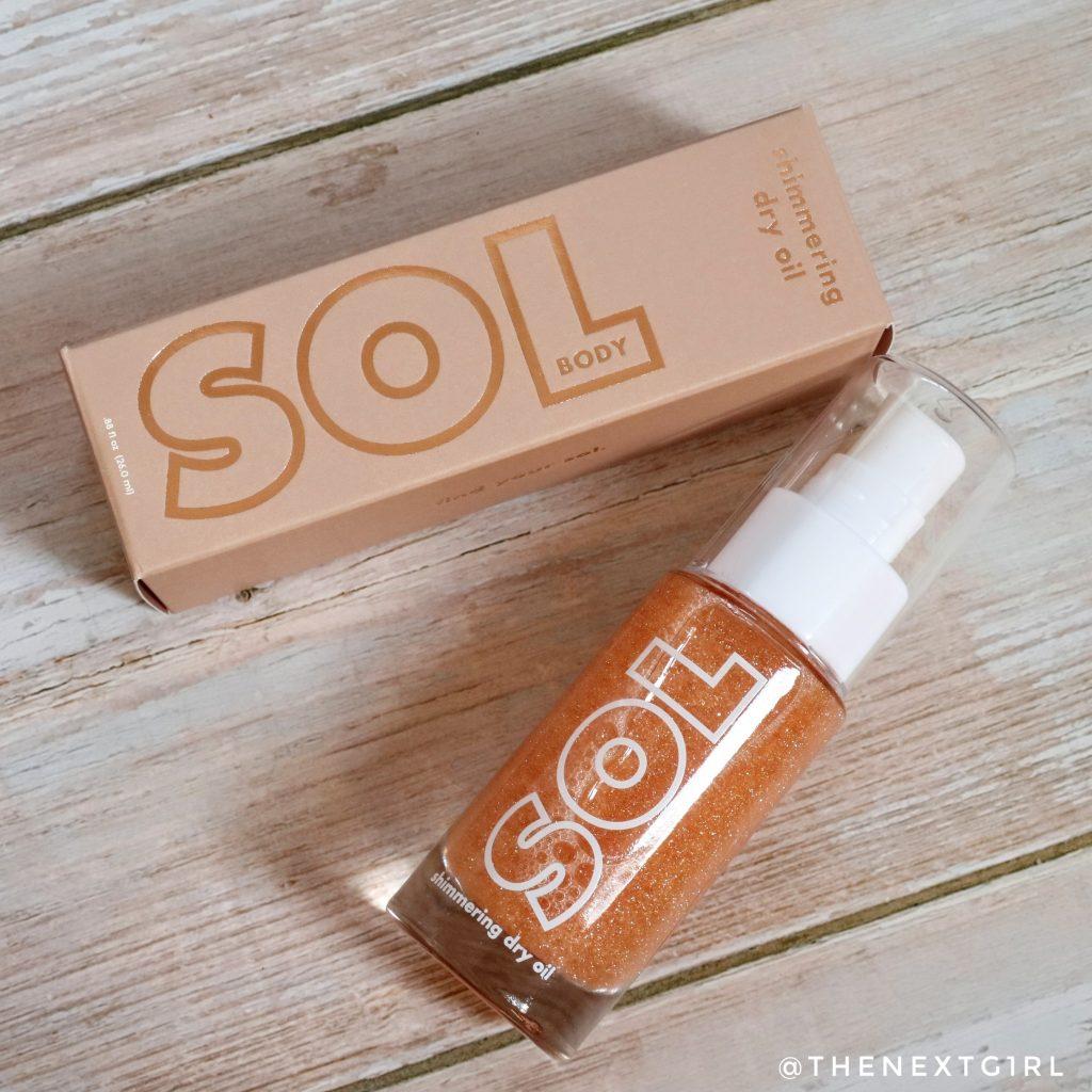 SOL Body Shimmering Dry Oil Paloma